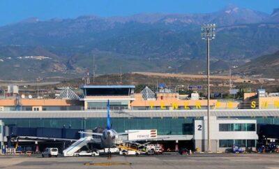 Tenerife airport arrivals