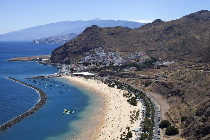 Areas of Tenerife